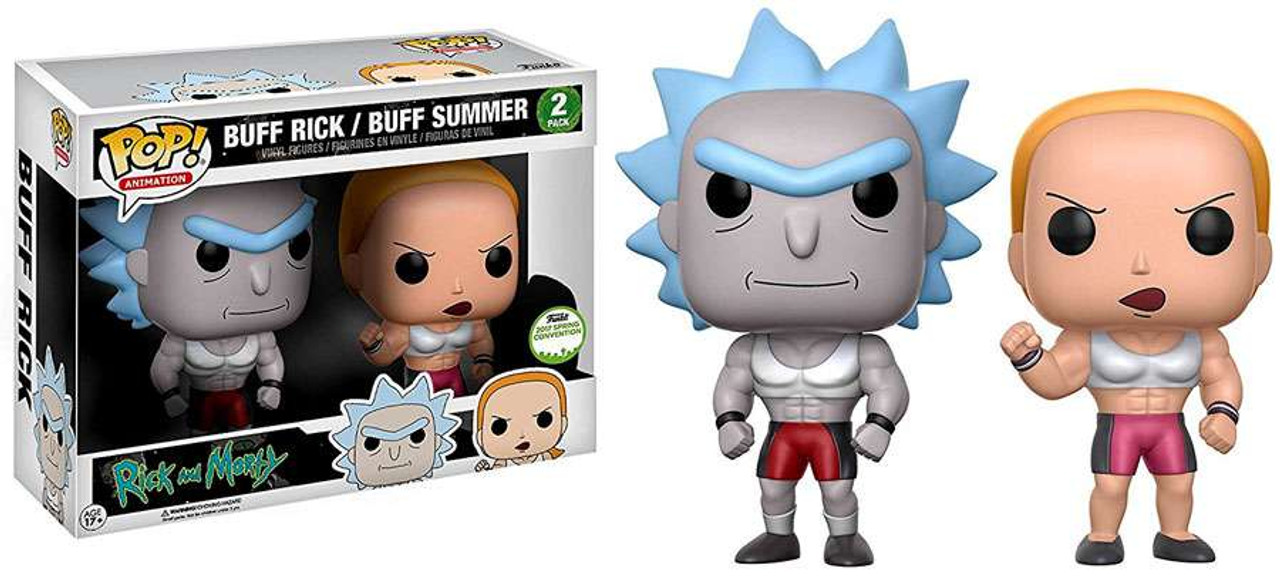 Funko Rick Morty Pop Animation Buff Rick Buff Summer