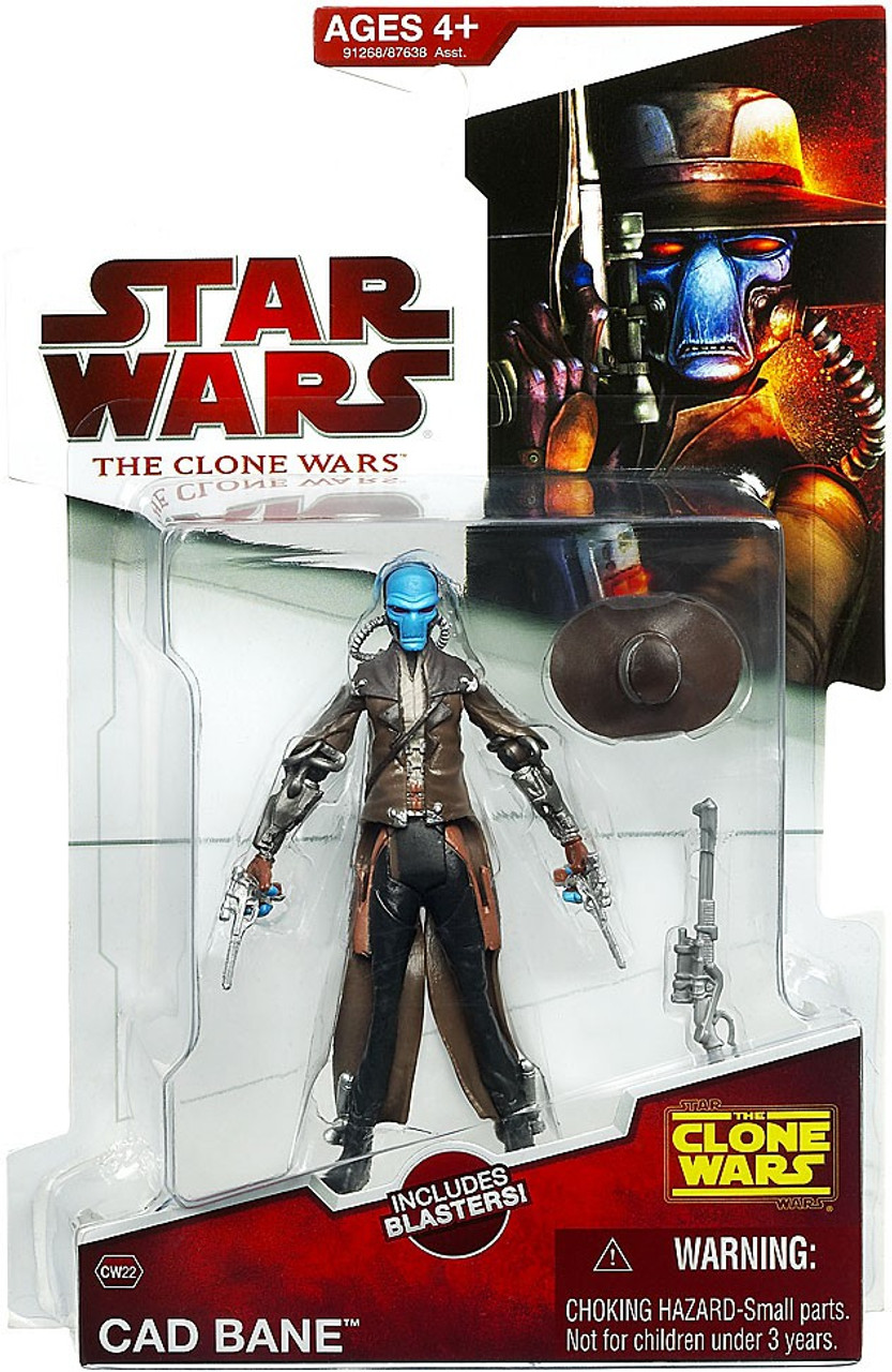 Star Wars The Clone Wars Clone Wars 2009 Cad Bane Action Figure CW22