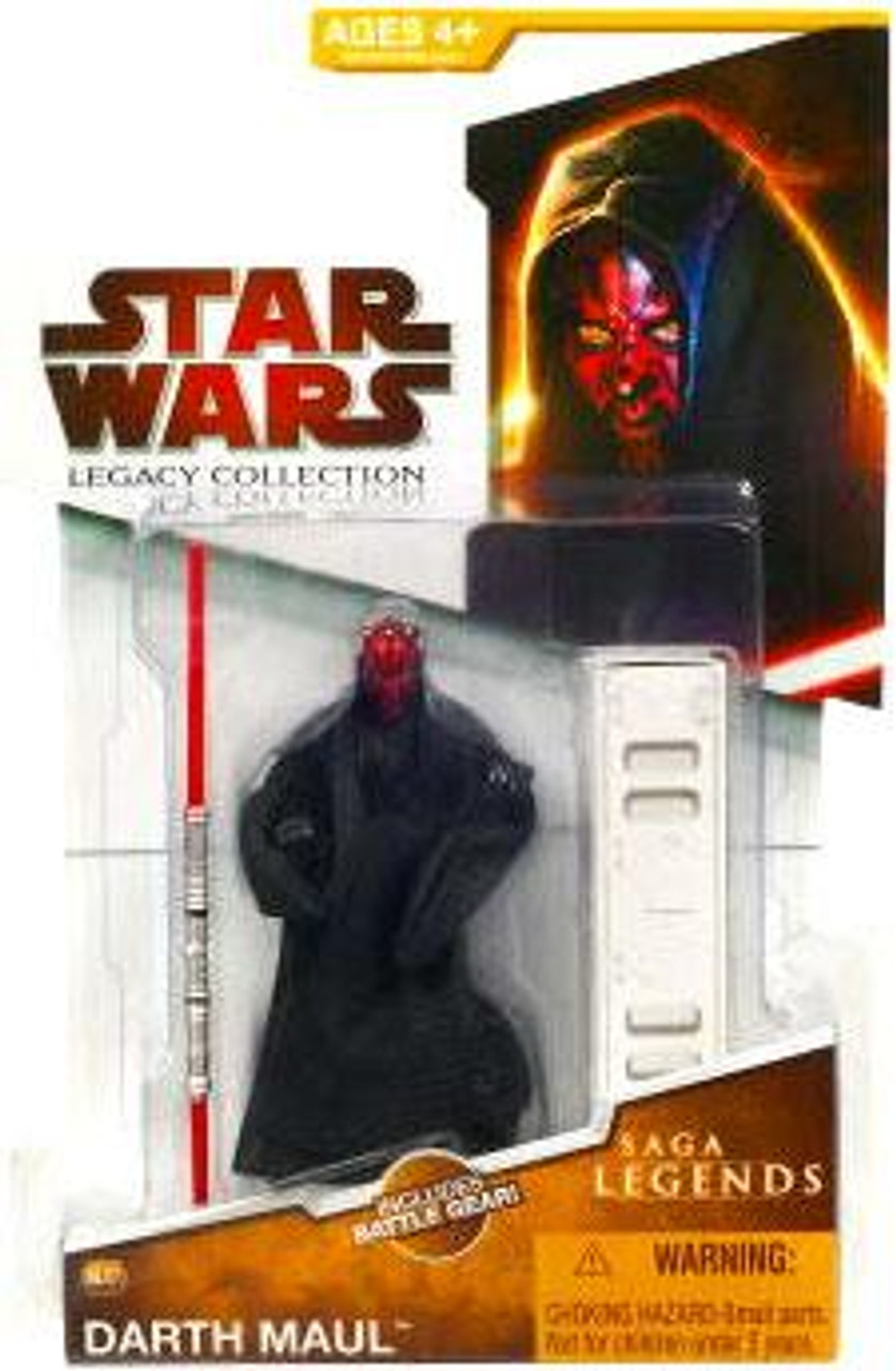 Star Wars The Phantom Menace Legacy Collection 2009 Saga Legends Darth Maul Action Figure SL07