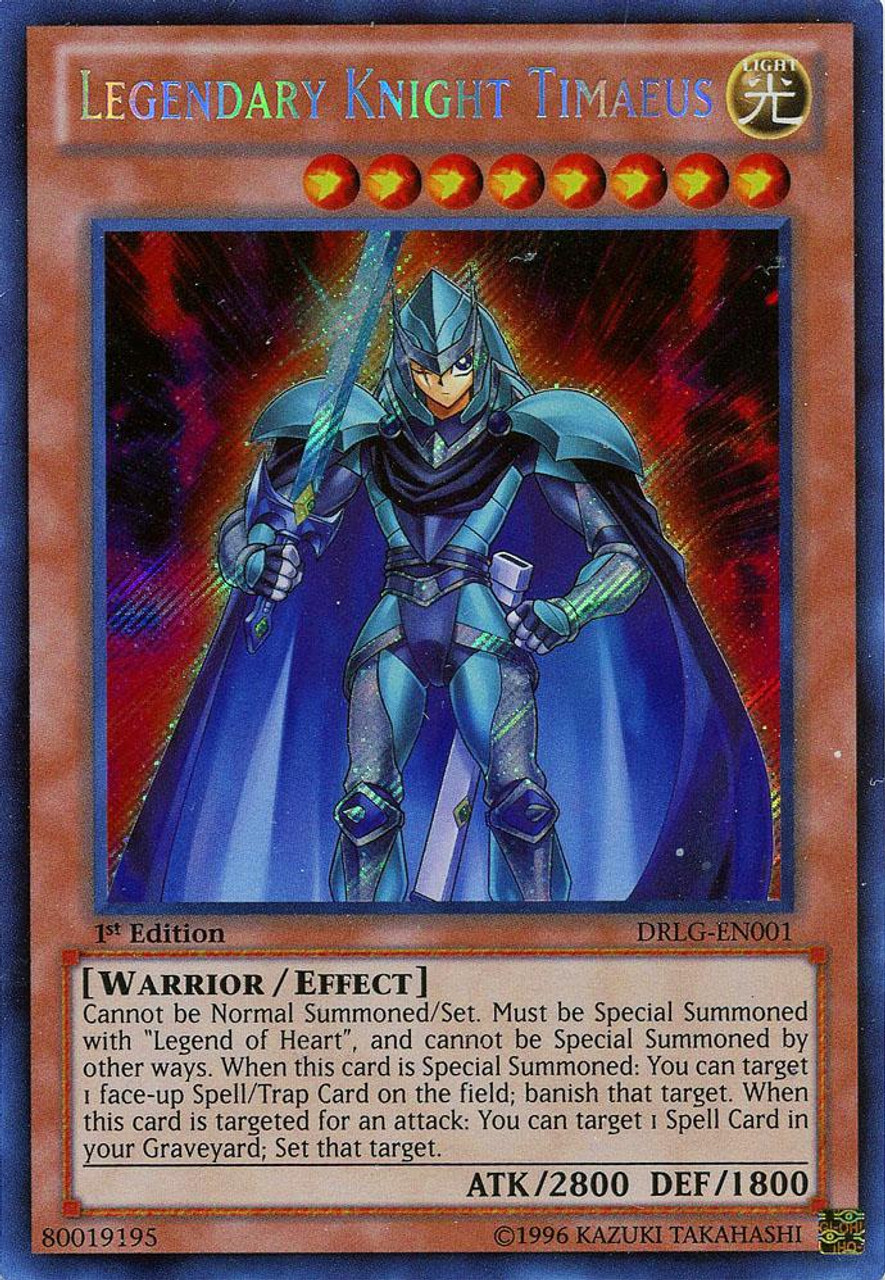 yugioh dragons of legend single card secret rare legendary