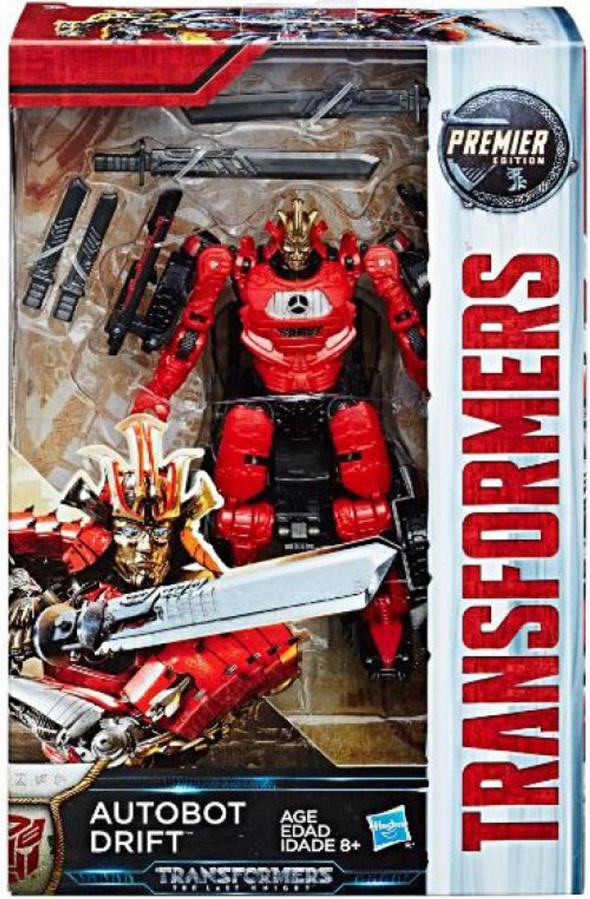 Transformers the last knight premier deluxe autobot drift - Autobot drift transformers 5 ...