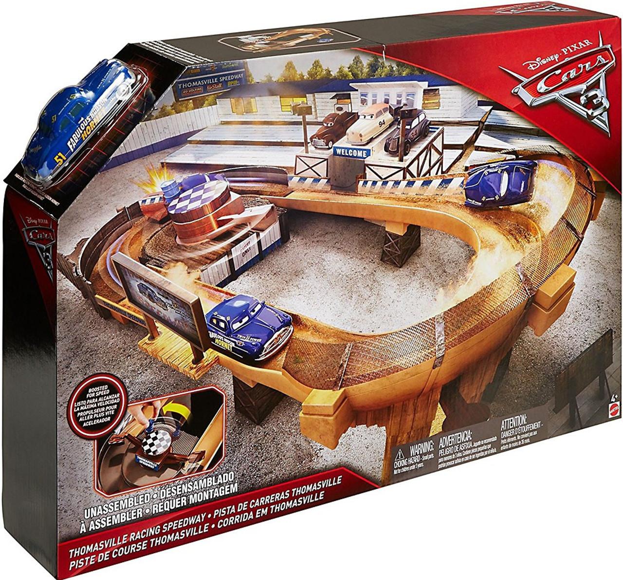 Disney Cars Cars 3 Thomasville Racing Speedway Playset