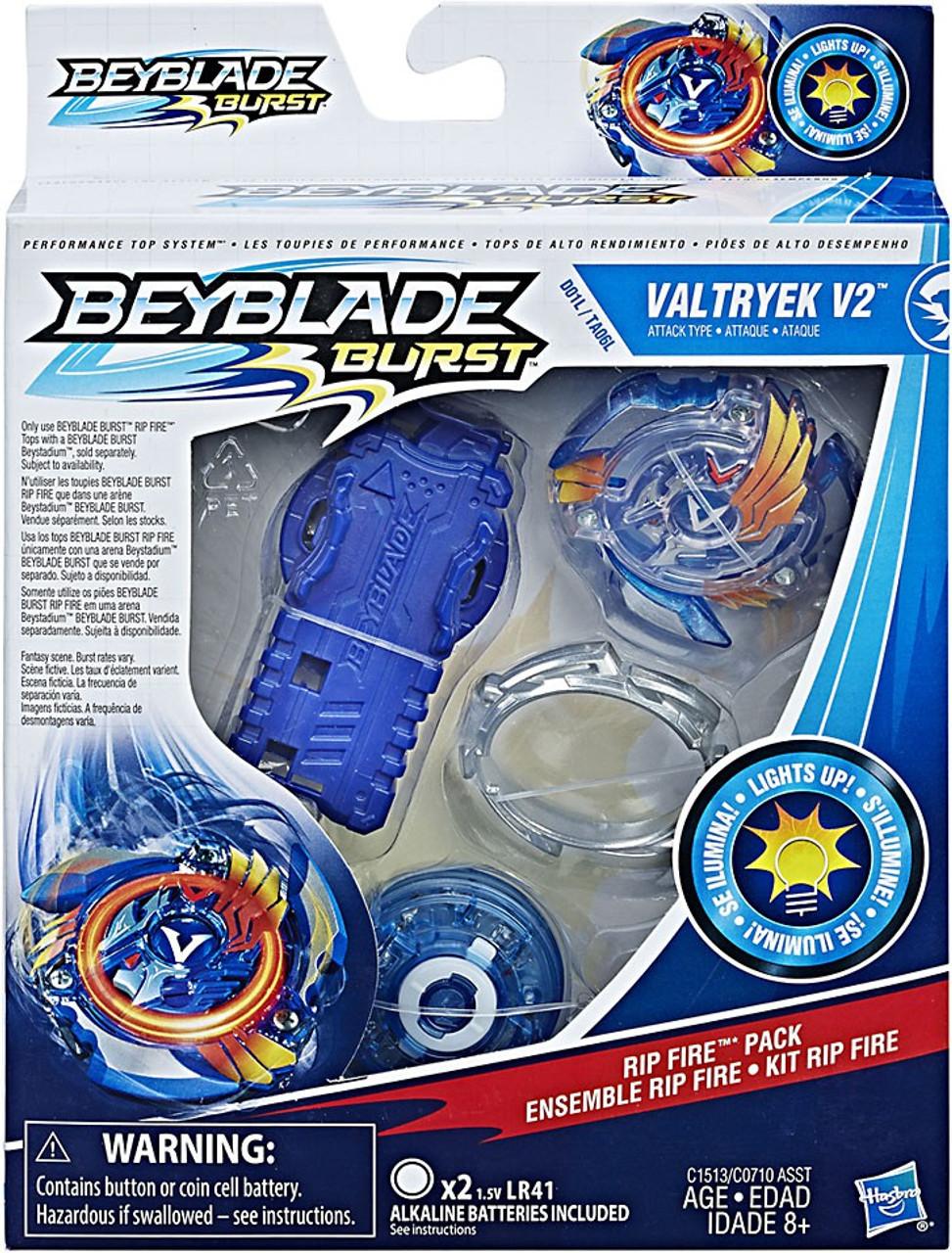beyblade burst valtryek v2 rip fire starter pack hasbro toys toywiz. Black Bedroom Furniture Sets. Home Design Ideas