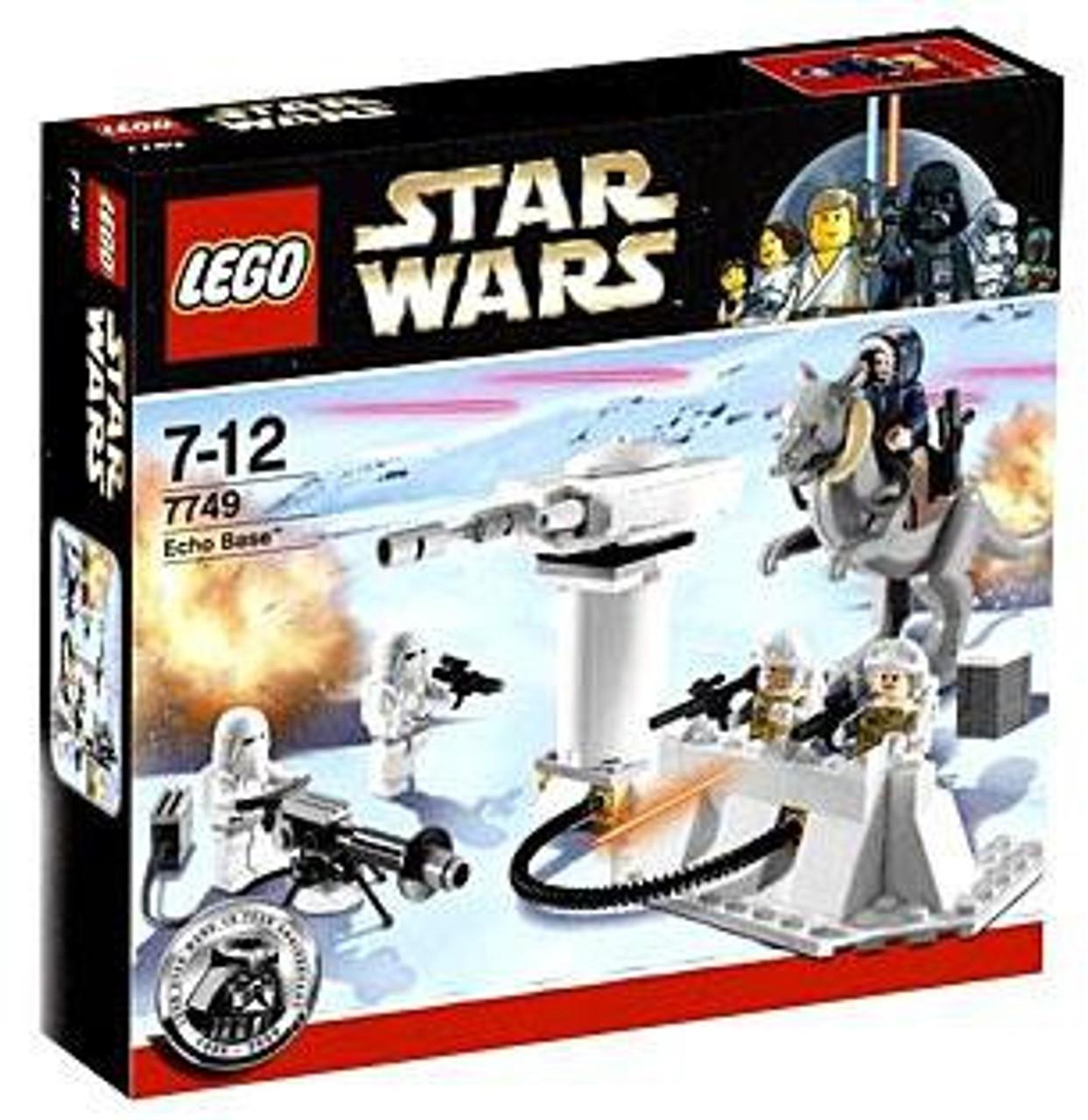 LEGO Star Wars Empire Strikes Back Echo Base Set #7749