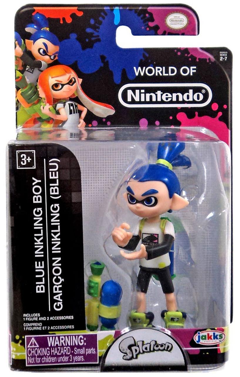 World Of Nintendo Inkling Boy 25 Inch Mini Figure Pre Order Ships October