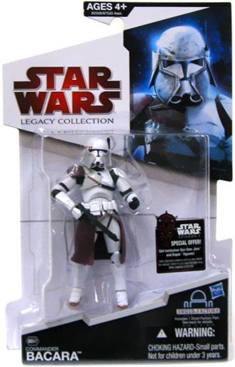 Star Wars Revenge of the Sith Legacy Collection 2009 Droid Factory Commander Bacara Action Figure BD47