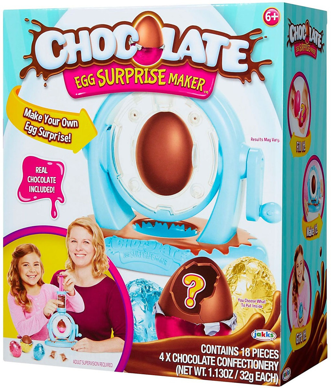 Chocolate Egg Surprise Chocolate Egg Surprise Maker Activity Play ...