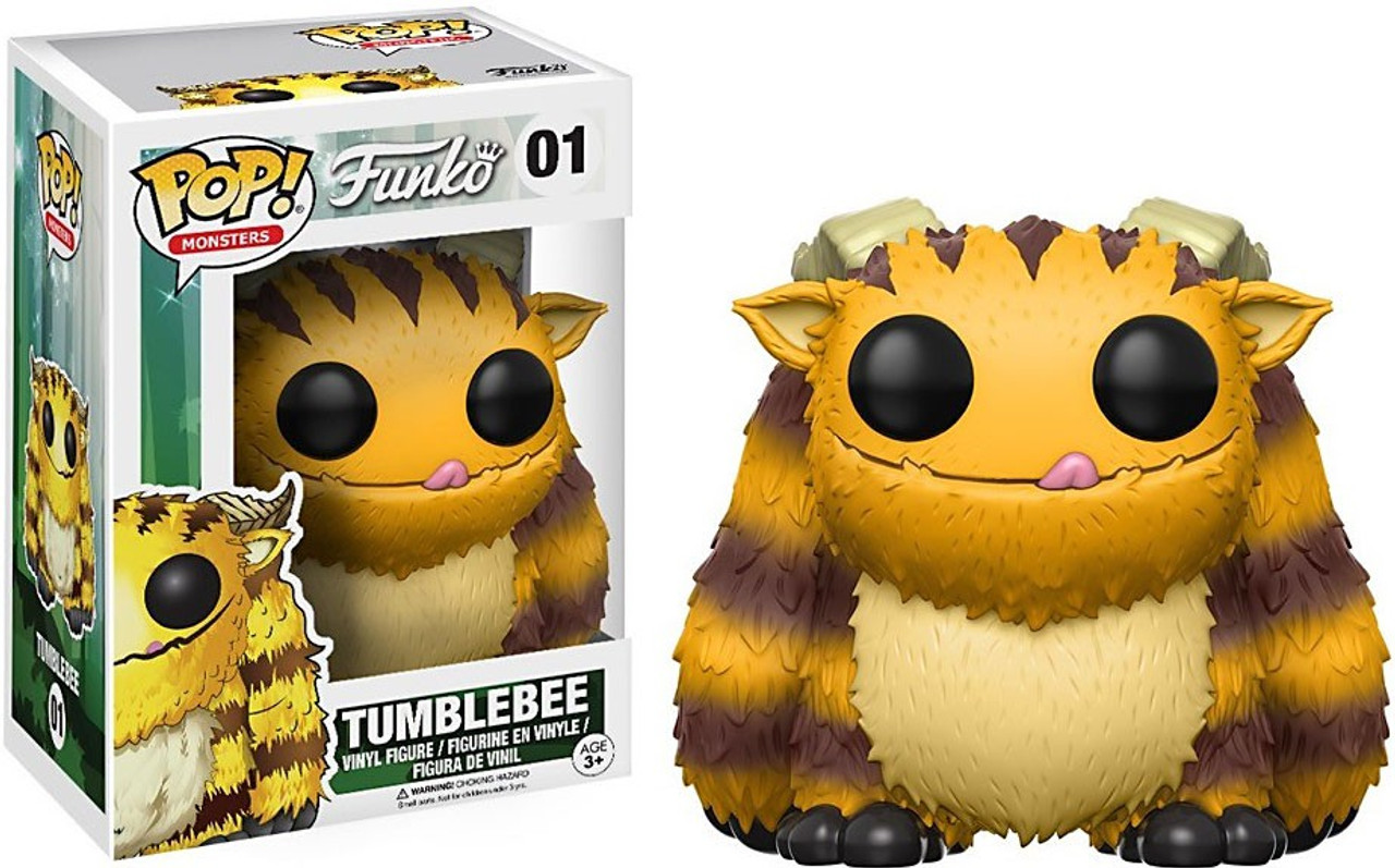 Funko Wetmore Forest Funko Pop Monsters Tumblebee Vinyl