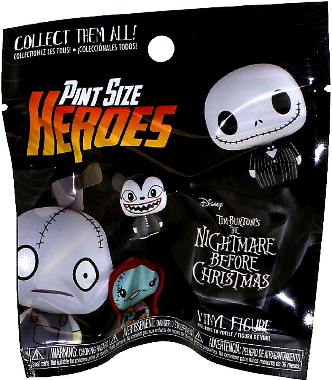 Funko Disney Pint Size Heroes Nightmare Before Christmas Mystery ...