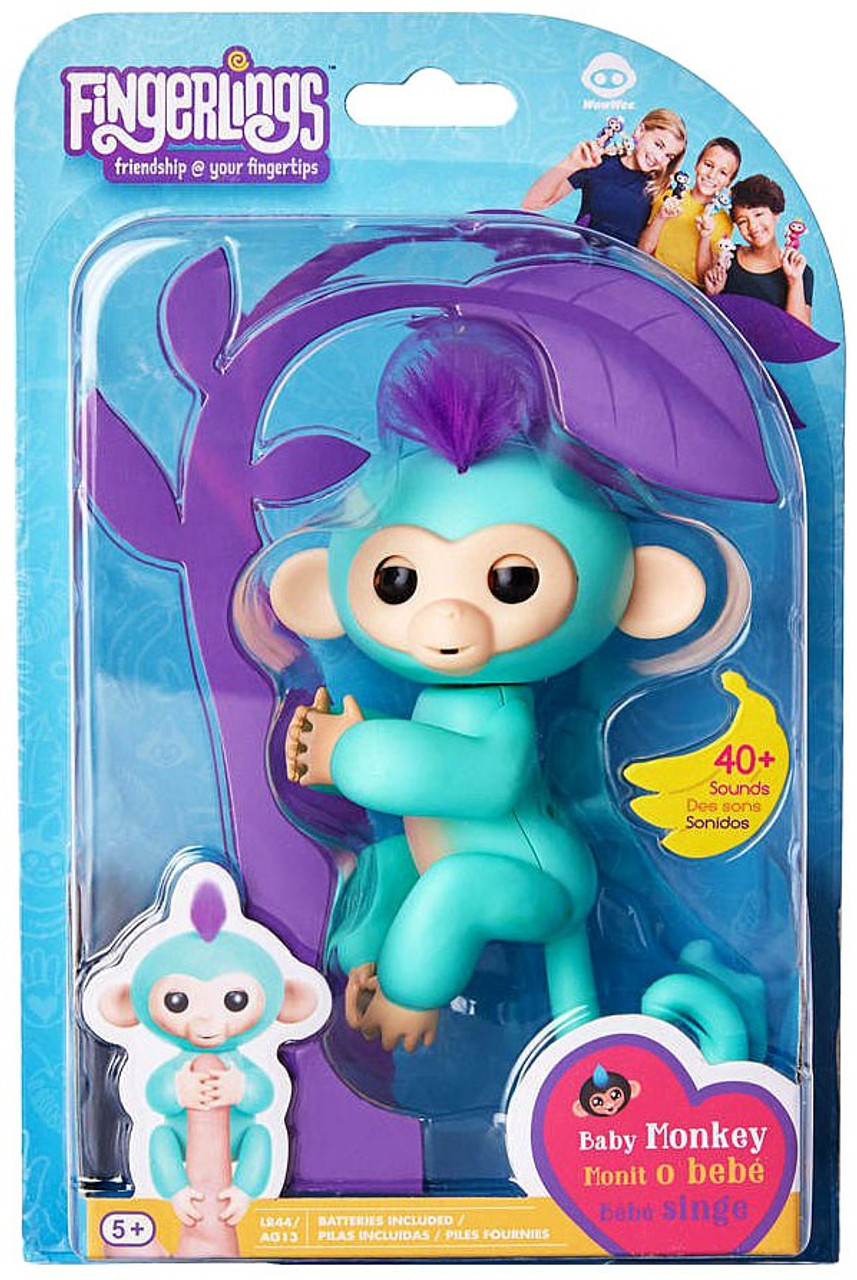 Fingerlings Baby Monkey Zoe Figure Wowwee Toywiz