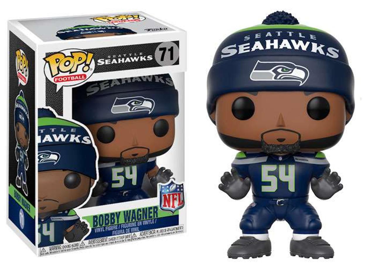 Funko NFL Seattle Seahawks Funko POP Sports Bobby Wagner Vinyl Figure Home Jersey  ToyWiz