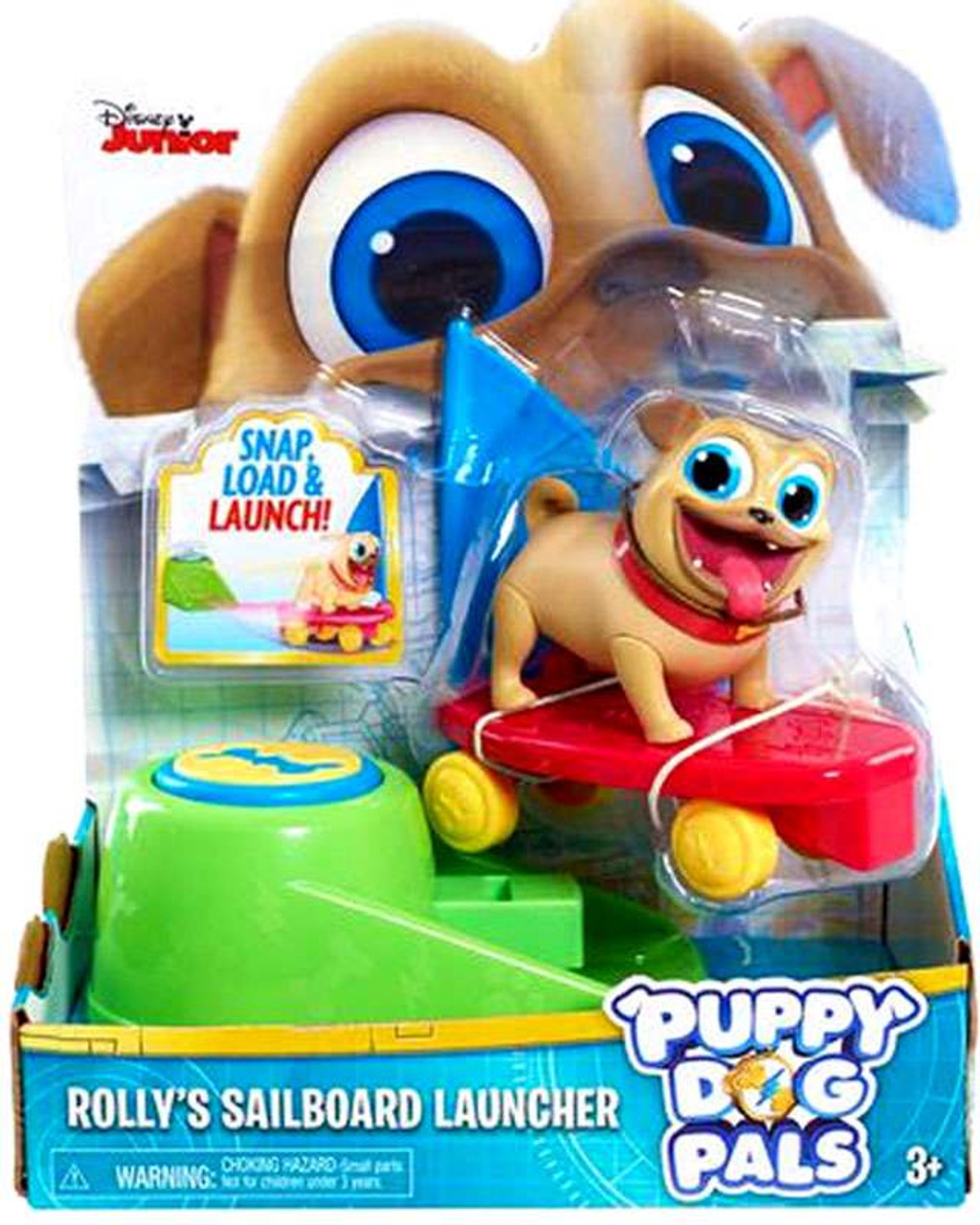Puppy Dog Pals Rolly Sailboard Launcher