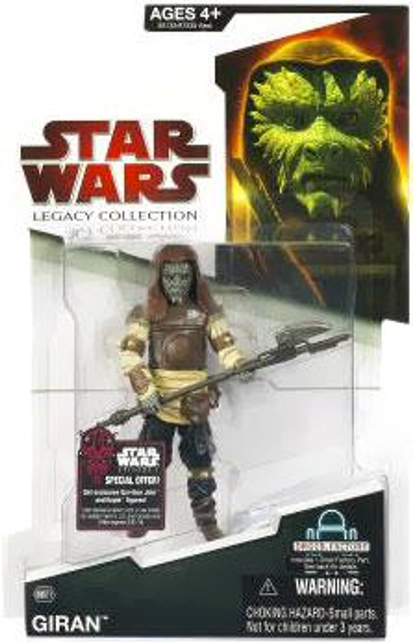 Star Wars Return of the Jedi Legacy Collection 2009 Droid Factory Giran Action Figure BD21