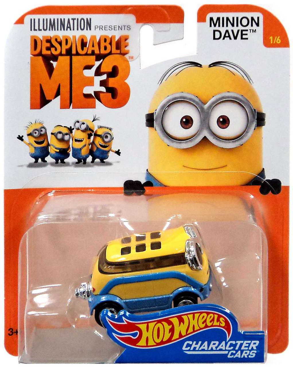 Hot Wheels Character Cars Despicable Me