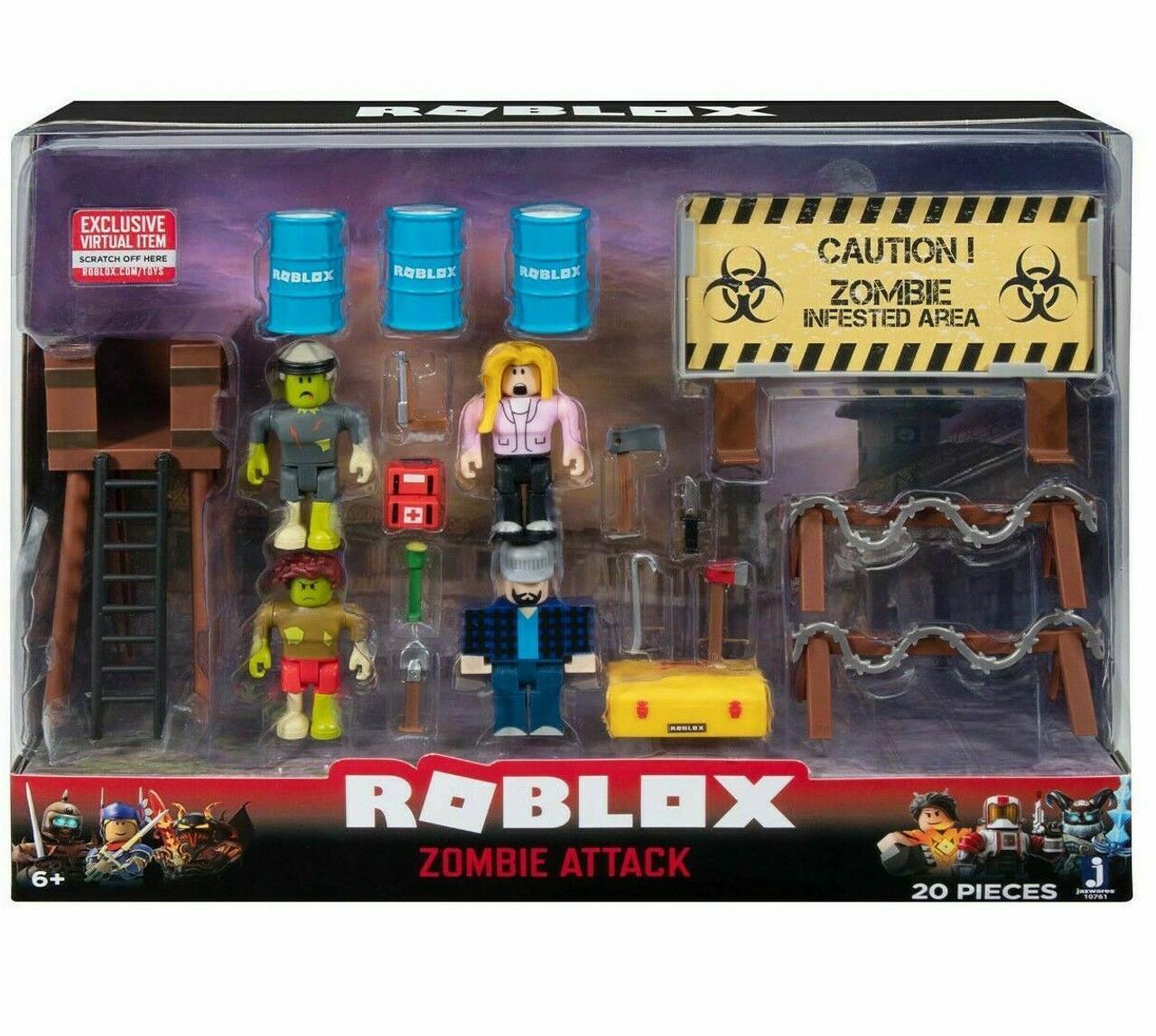 Roblox Zombie Attack Playset Jazwares Toywiz