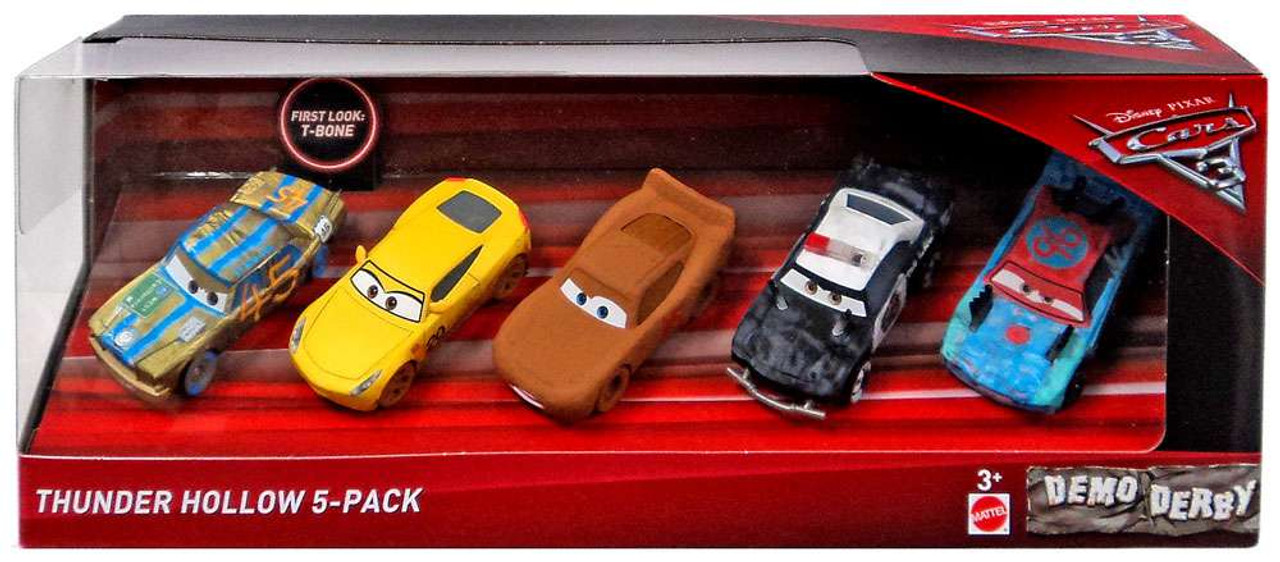 Disney cars cars 3 thunder hollow 155 diecast car 5 pack t bone chester whipplefilter frances - Coloriage cars 3 thunder hollow ...