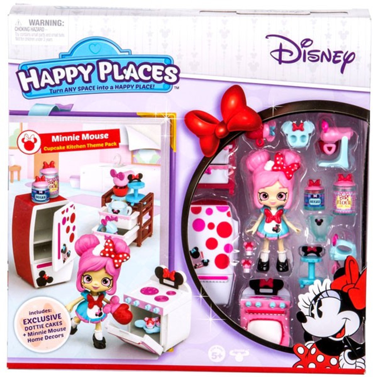Disney Happy Places Minnie Mouse Theme Pack Cupcake ...