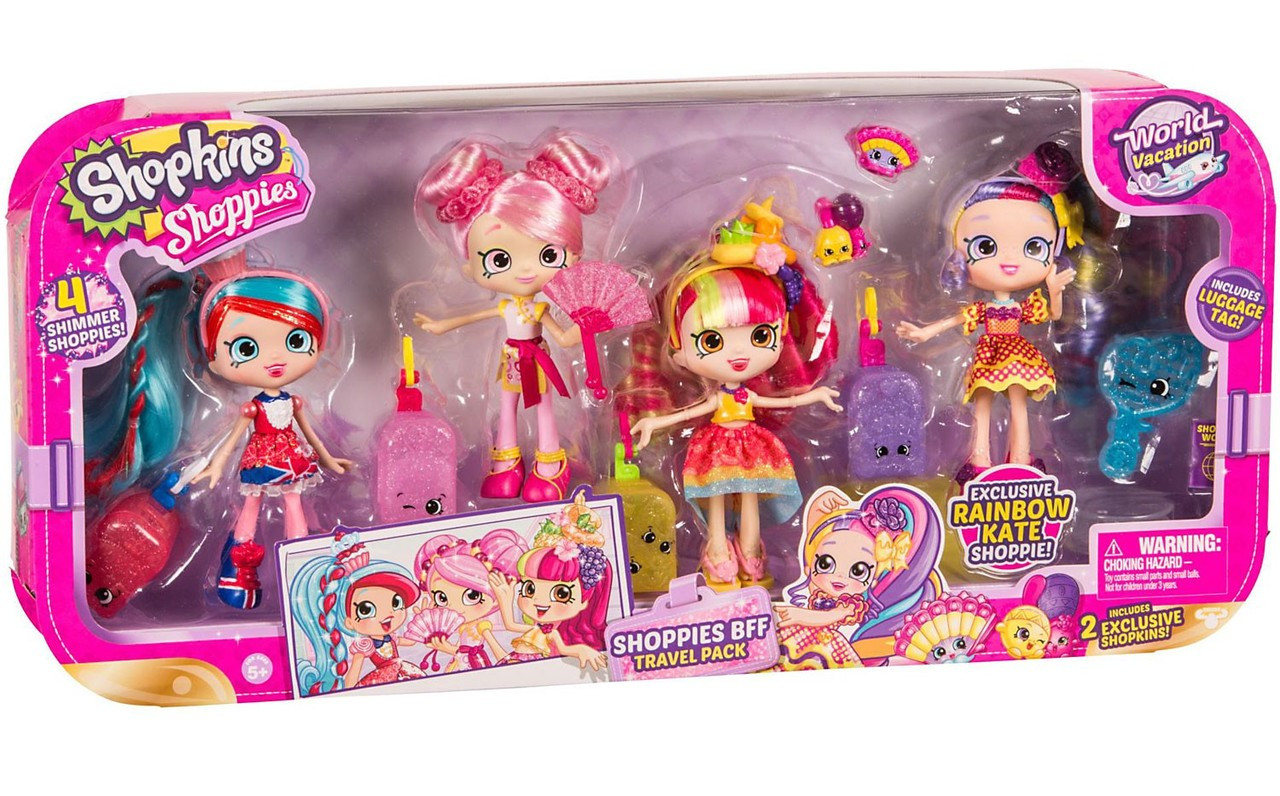 Shopkins World Vacation Bff Travel Pack