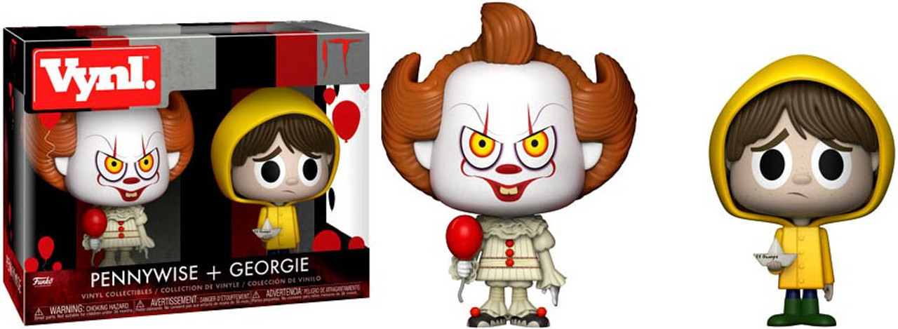Funko It Vynl Pennywise Georgie Vinyl Figure 2 Pack Toywiz