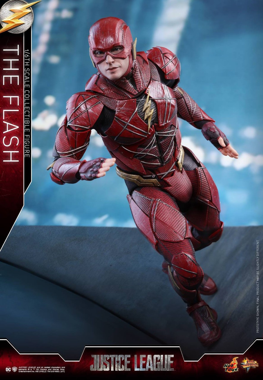 DC Justice League Movie The Flash 1/6 Collectible Figure (Pre-Order ships October)