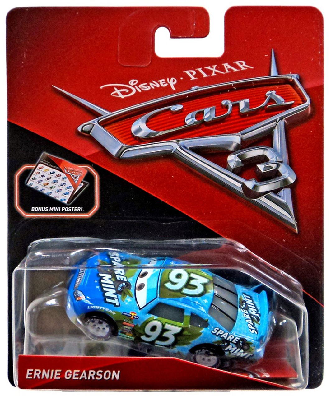 Disney Pixar Cars 3 Ernie Gearson 155 Diecast Car Mattel