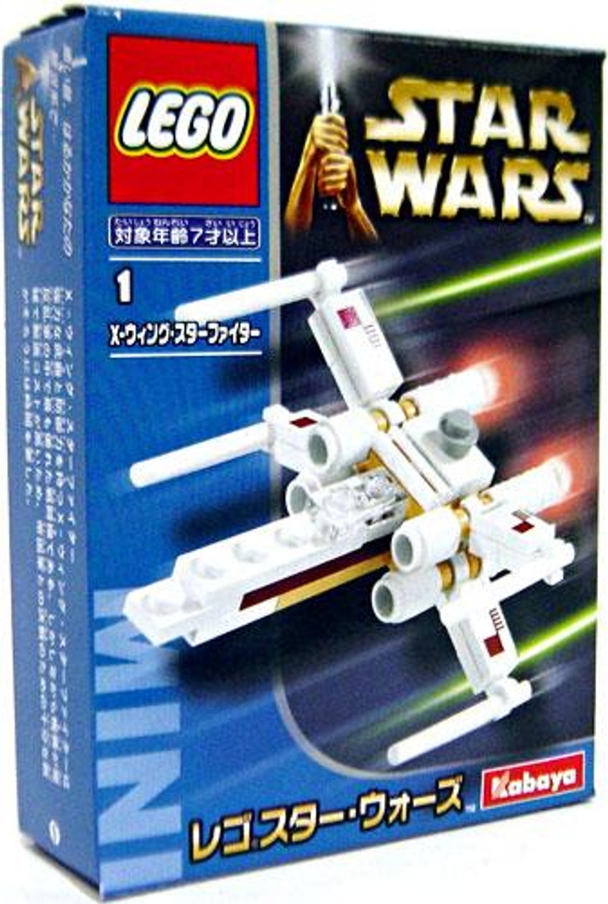LEGO Star Wars Kabaya Mini X-Wing Fighter Set [Japanese]