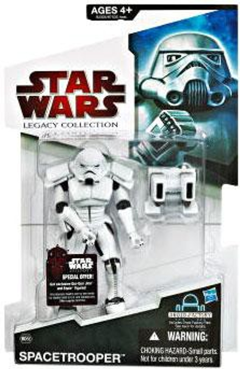 Star Wars Expanded Universe Legacy Collection 2009 Droid Factory Spacetrooper Action Figure BD58 [New Helmet]