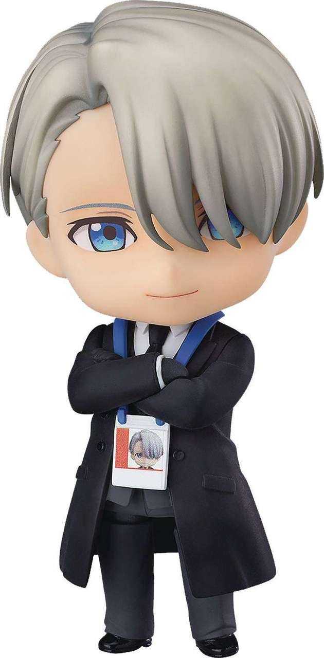 Yuri on Ice Nendoroid Victor Nikiforov Action Figure [Coach Outfit] (Pre-Order ships February)