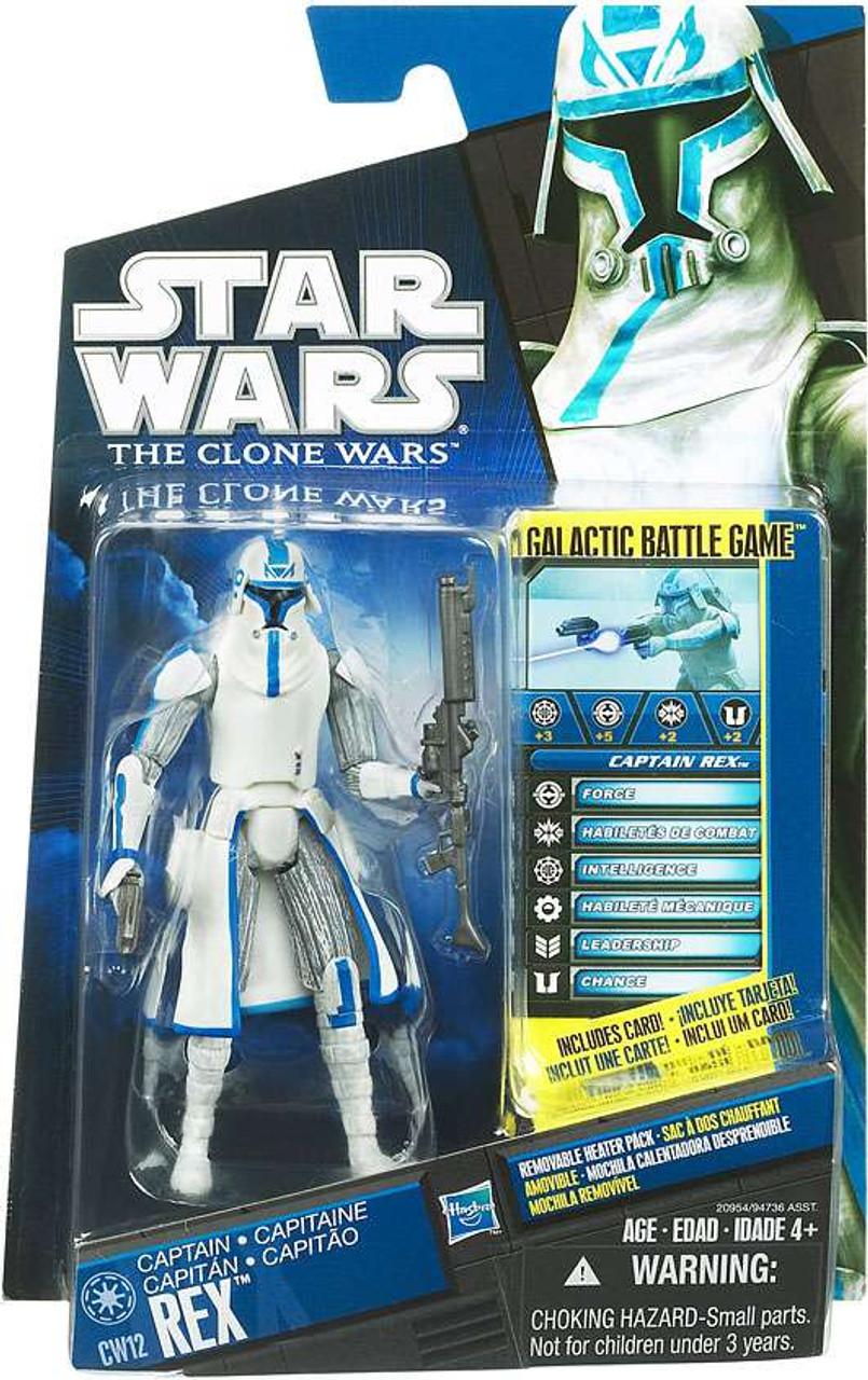 Star Wars The Clone Wars Clone Wars 2010 Rex Action Figure CW12 [Cold Weather Gear]
