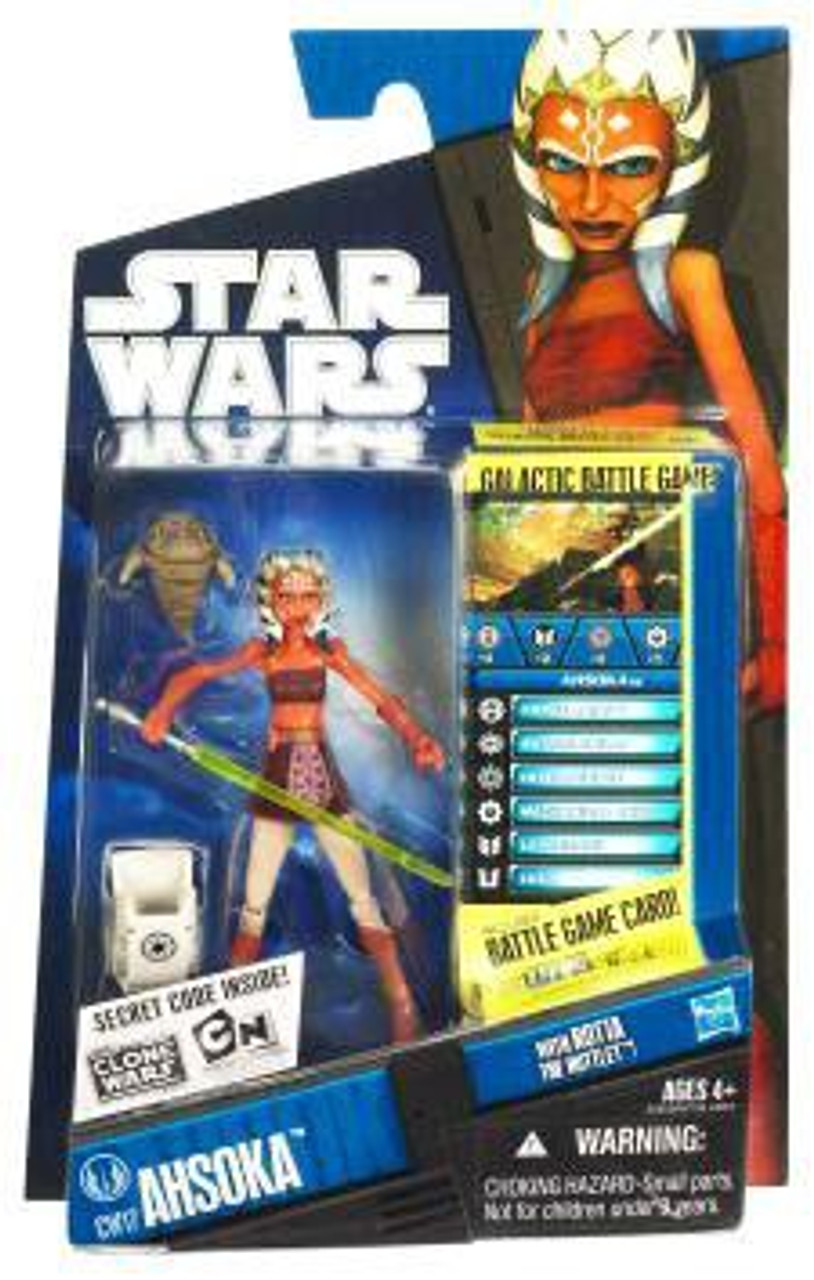 Star Wars The Clone Wars Clone Wars 2010 Ahsoka Tano Action Figure CW17 [With Rotta the Huttlet]