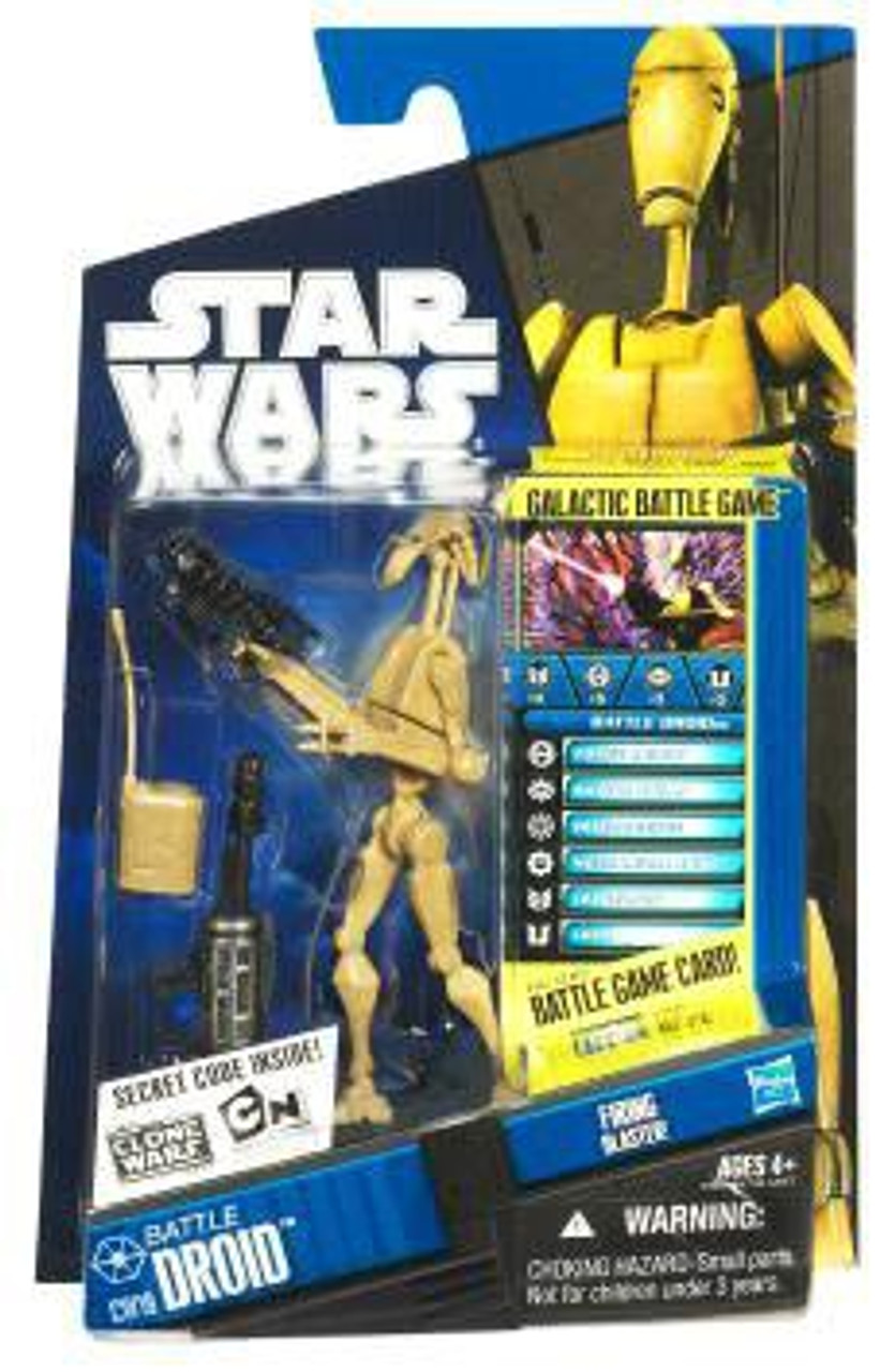 Star Wars The Clone Wars Clone Wars 2010 Battle Droid Action Figure CW19