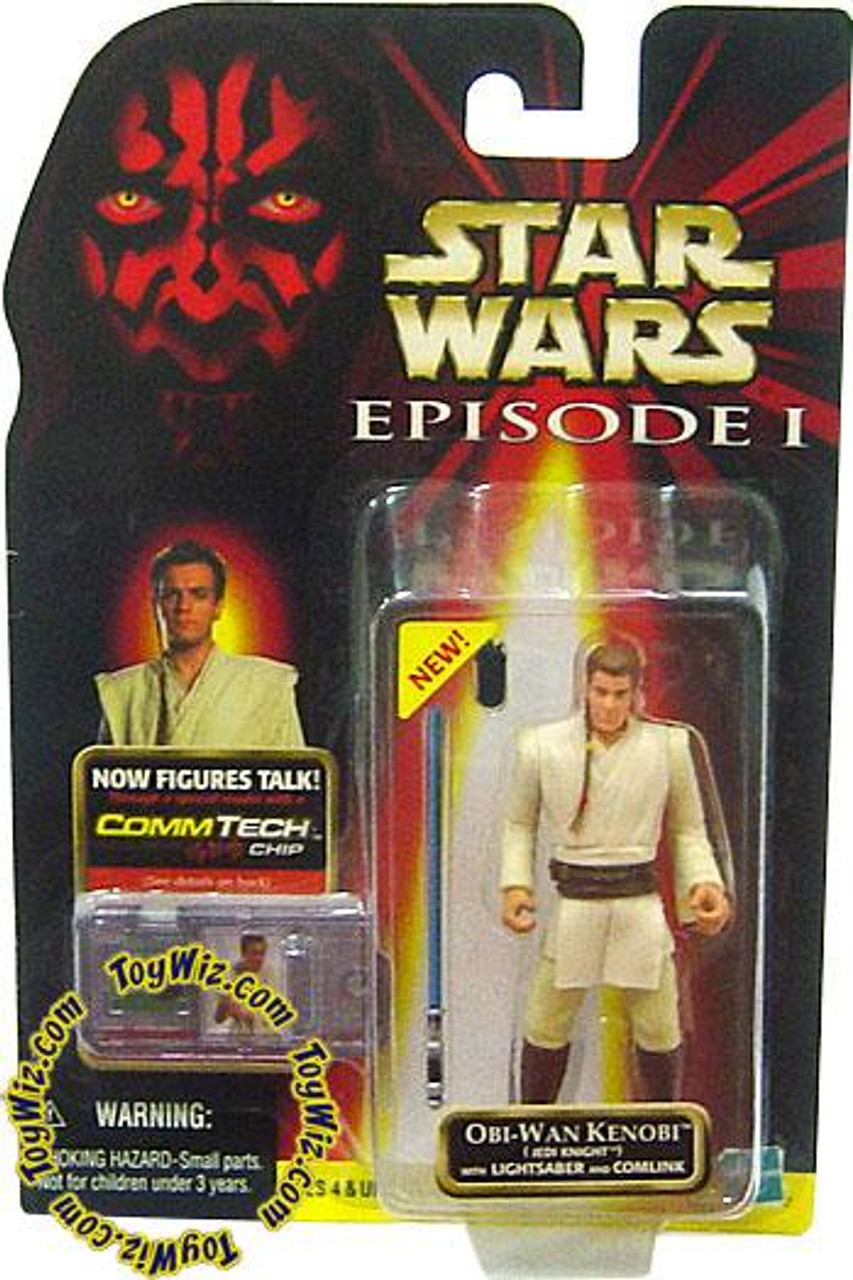 Star Wars The Phantom Menace Episode I Basic 1999 Obi-Wan Kenobi Action Figure [Jedi Knight]