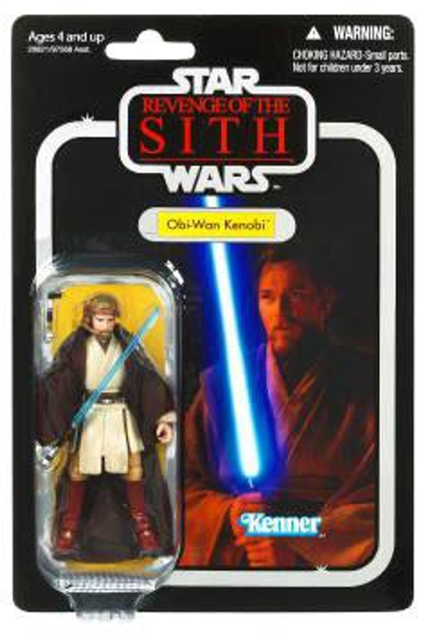 Star Wars Revenge of the Sith Vintage Collection 2010 Obi-Wan Kenobi Action Figure #16
