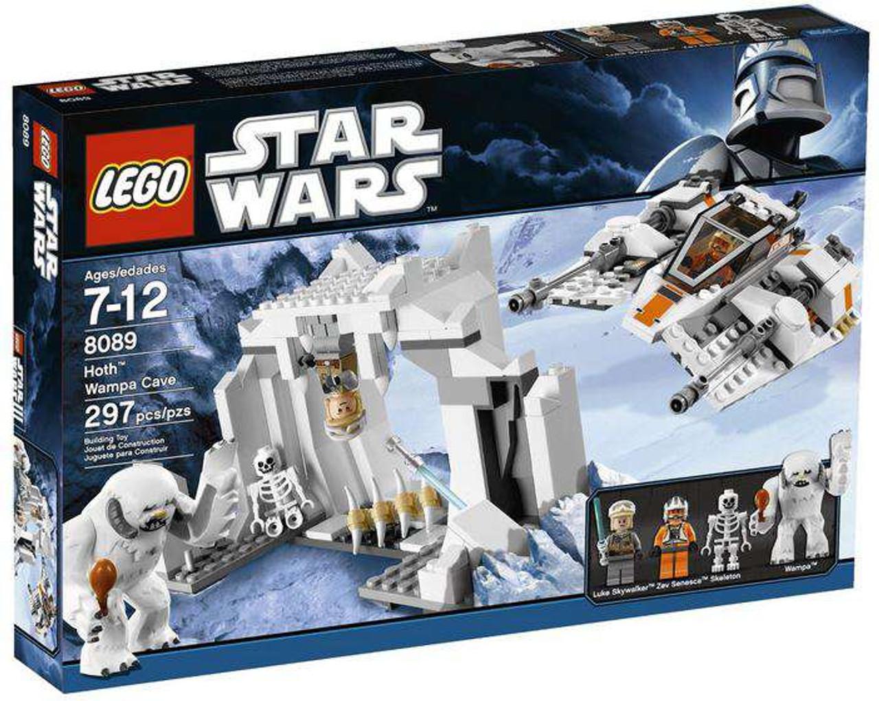 LEGO Star Wars Empire Strikes Back Hoth Wampa Cave Set #8089