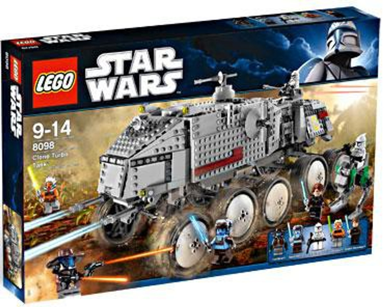 LEGO Star Wars The Clone Wars Clone Turbo Tank Set #8098
