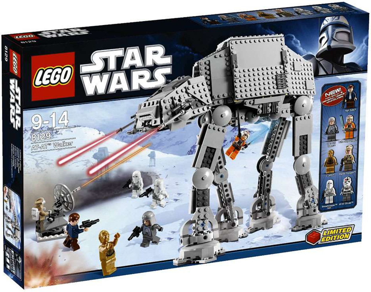 LEGO Star Wars Empire Strikes Back AT-AT Walker Set #8129