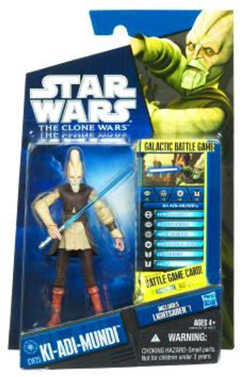 Star Wars The Clone Wars Clone Wars 2010 Ki-Adi Mundi Action Figure CW25