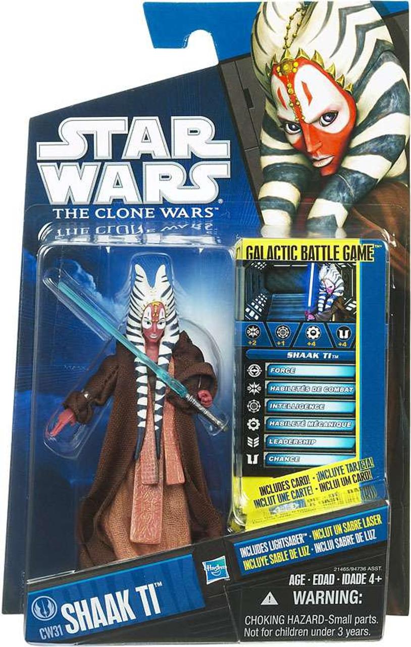 Star Wars The Clone Wars Clone Wars 2010 Shaak Ti Action Figure CW31