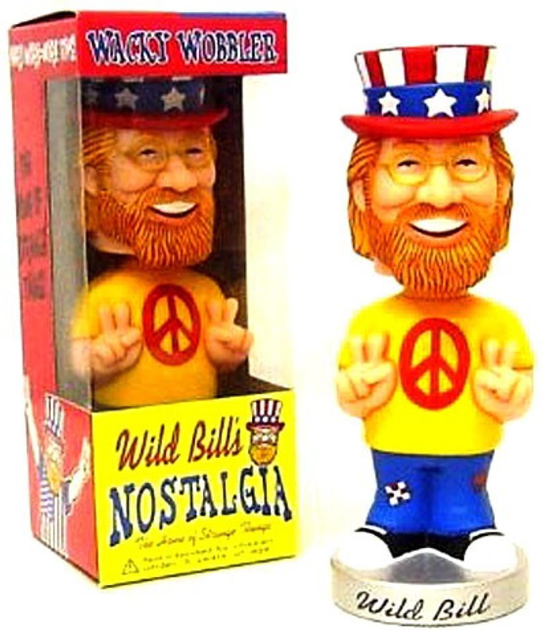 Funko Wild Bill's Nostalgia Wacky Wobbler Wild Bill Exclusive Bobble Head