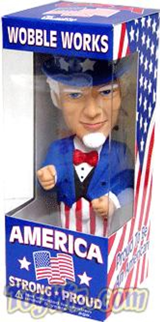 Funko Wacky Wobbler Uncle Sam Bobble Head