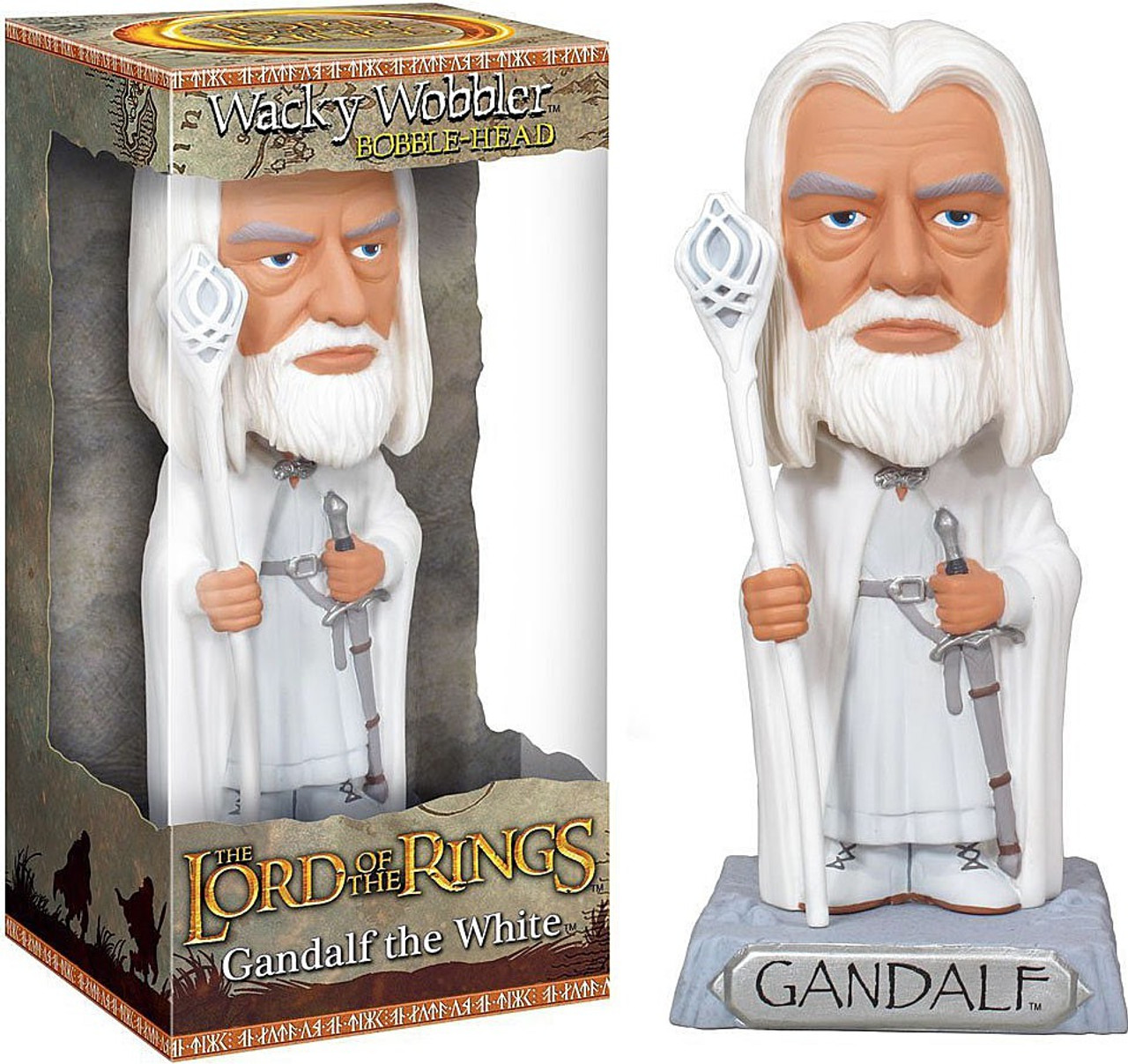 Funko The Lord of the Rings Wacky Wobbler Gandalf Bobble Head [The White]