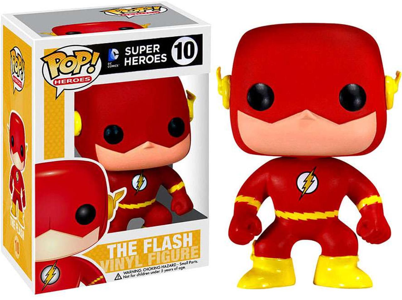 DC Universe Funko POP! Heroes The Flash Vinyl Figure #10 (Pre-Order ships October)