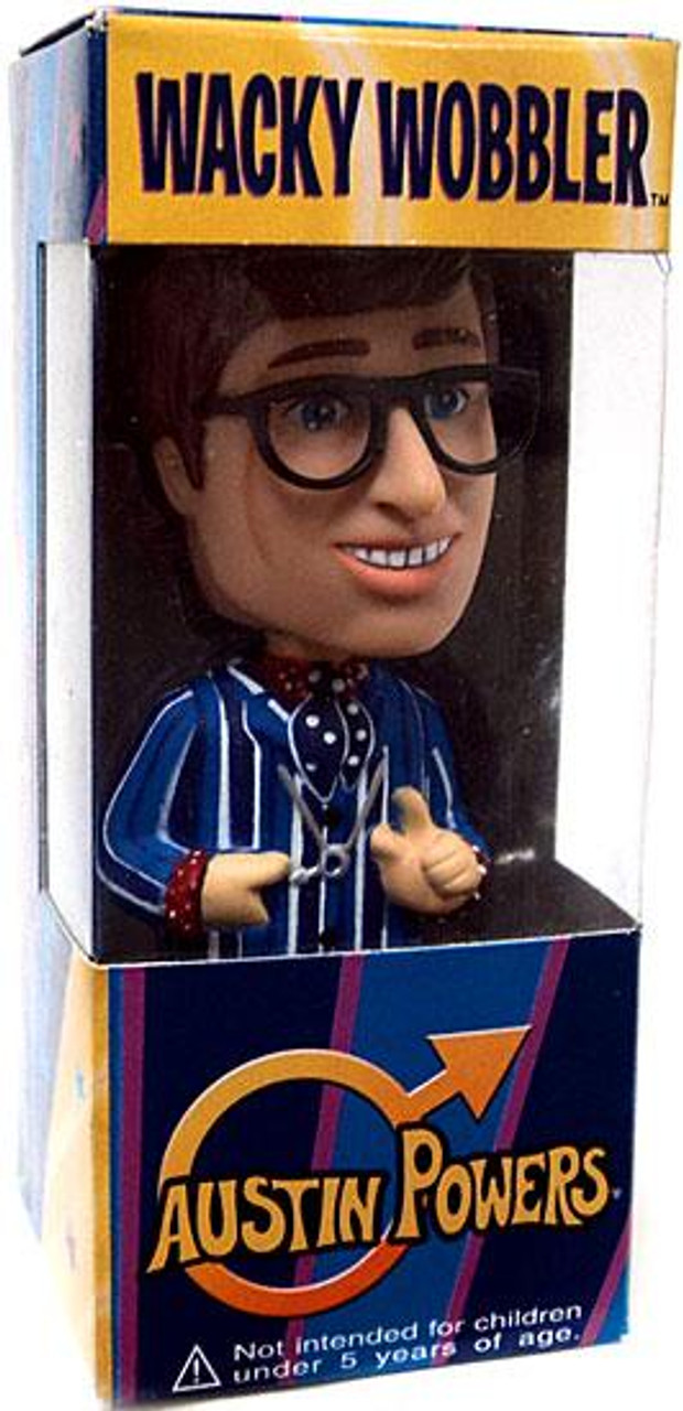 Funko Wacky Wobbler Mini Austin Powers Bobble Head