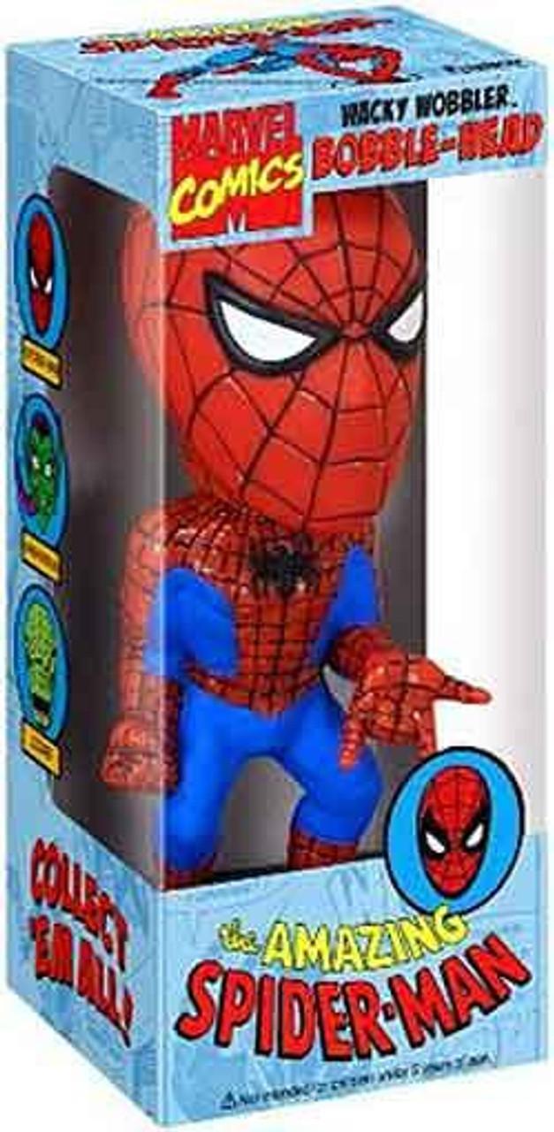 Funko Wacky Wobbler The Amazing Spider-Man Bobble Head [Marvel Comics]