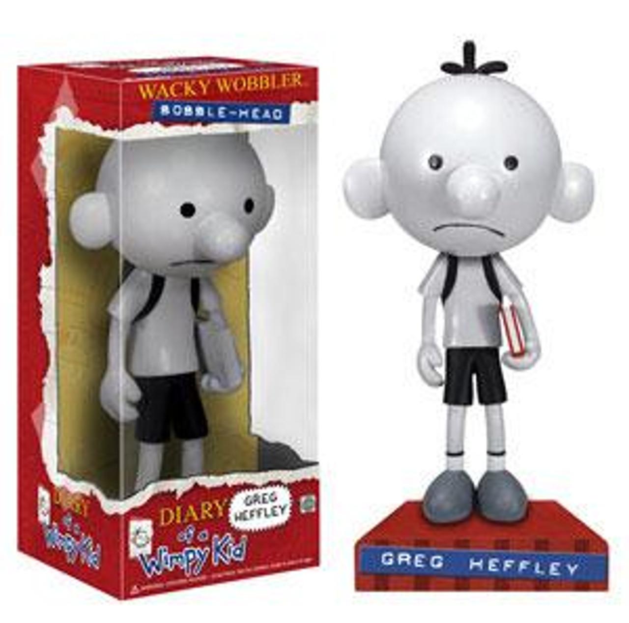 Funko Diary of a Wimpy Kid Wacky Wobbler Greg Heffley Bobble Head
