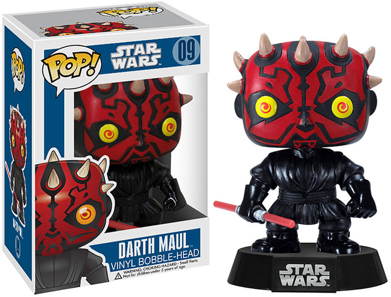 Funko POP! Star Wars Darth Maul Vinyl Bobble Head #09