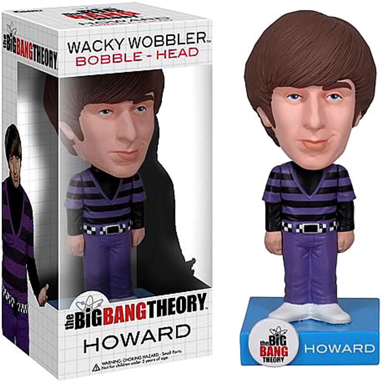Funko The Big Bang Theory Wacky Wobbler Howard Bobble Head