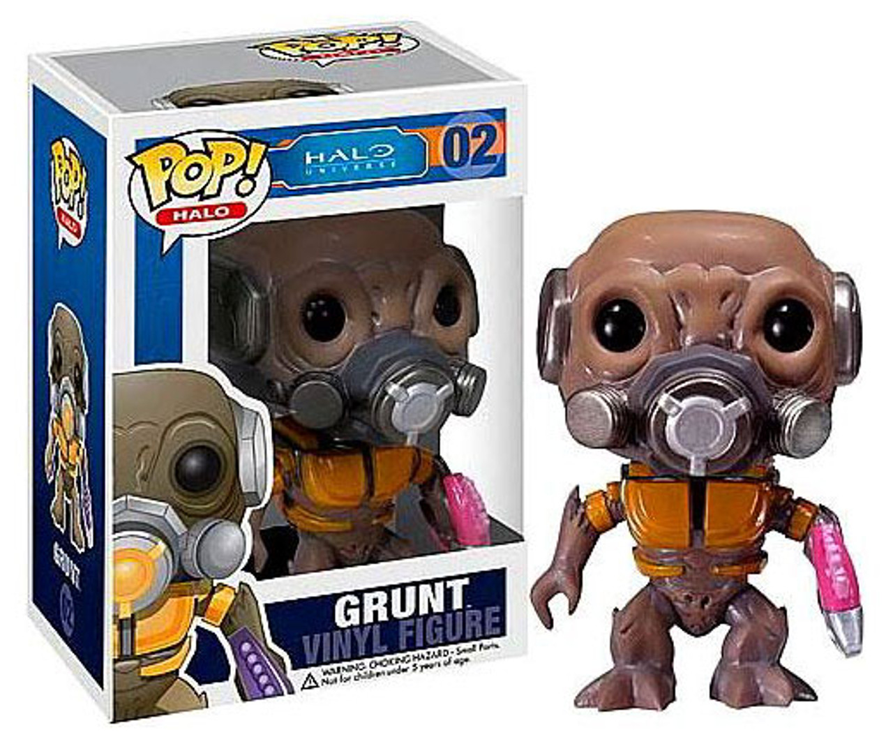 Halo Universe Funko POP! Halo Grunt Minor Vinyl Figure #02