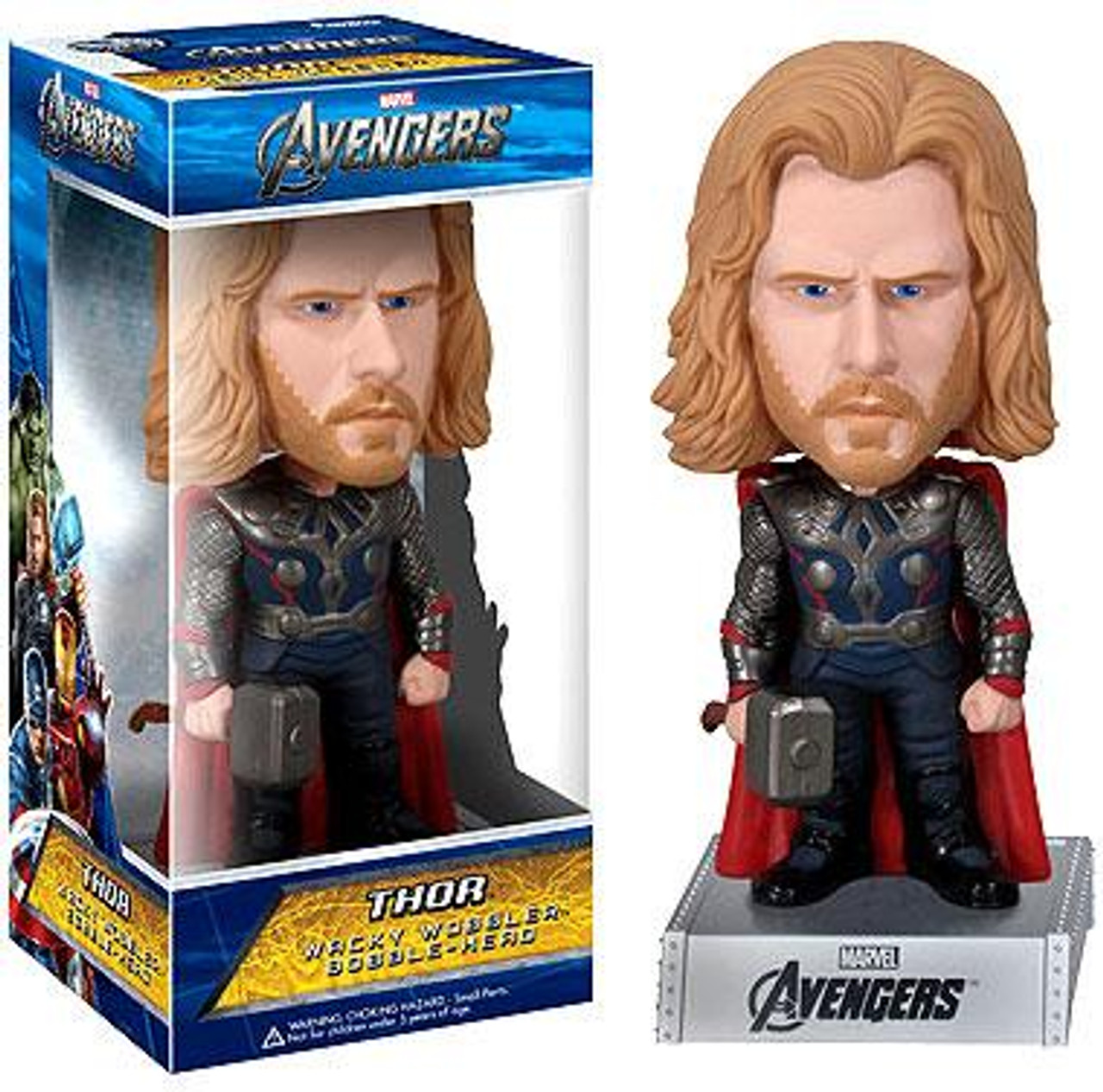 Funko Marvel Avengers Wacky Wobbler Thor Bobble Head