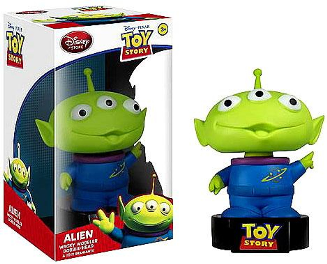 Funko Toy Story Wacky Wobbler Talking Alien Exclusive Bobble Head